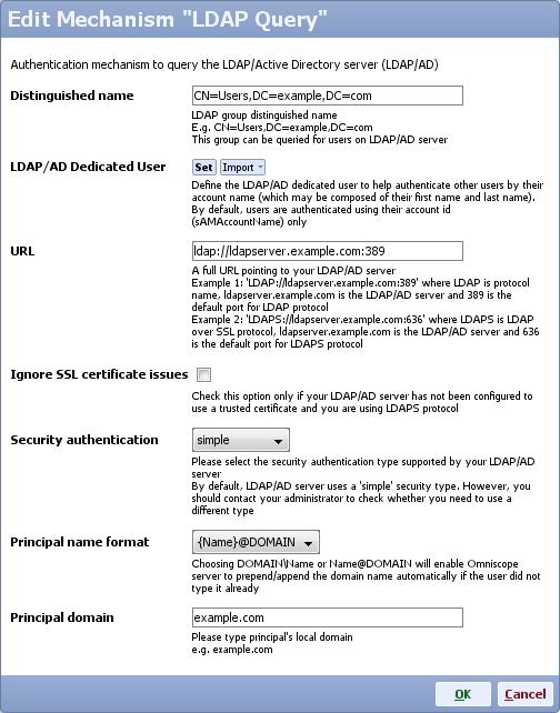 Security: LDAP Query Mechanism - Visokio Forums