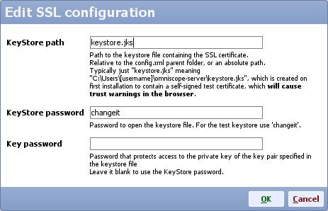 Security: Web Server SSL configuration - Visokio Forums