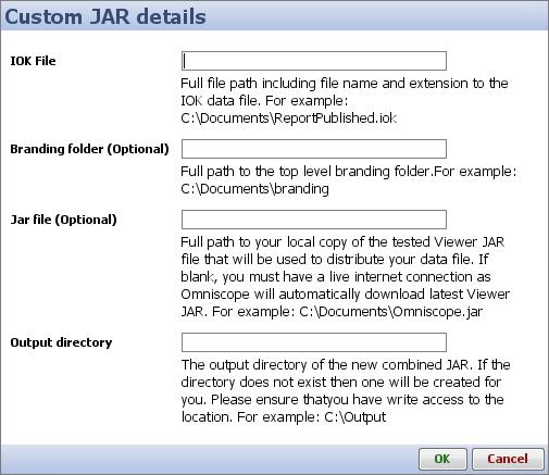Custom JAR files | Visokio