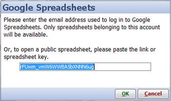 Google Spreadsheets | Visokio